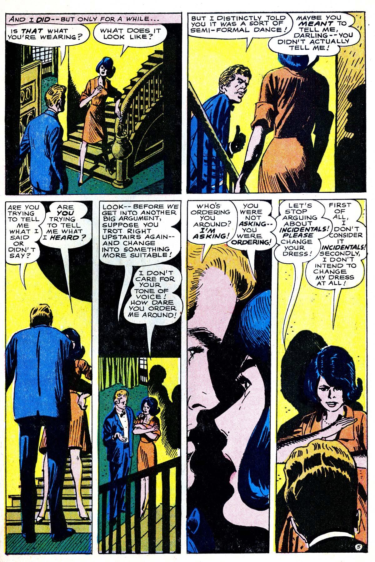 Read online Secret Hearts comic -  Issue #114 - 7