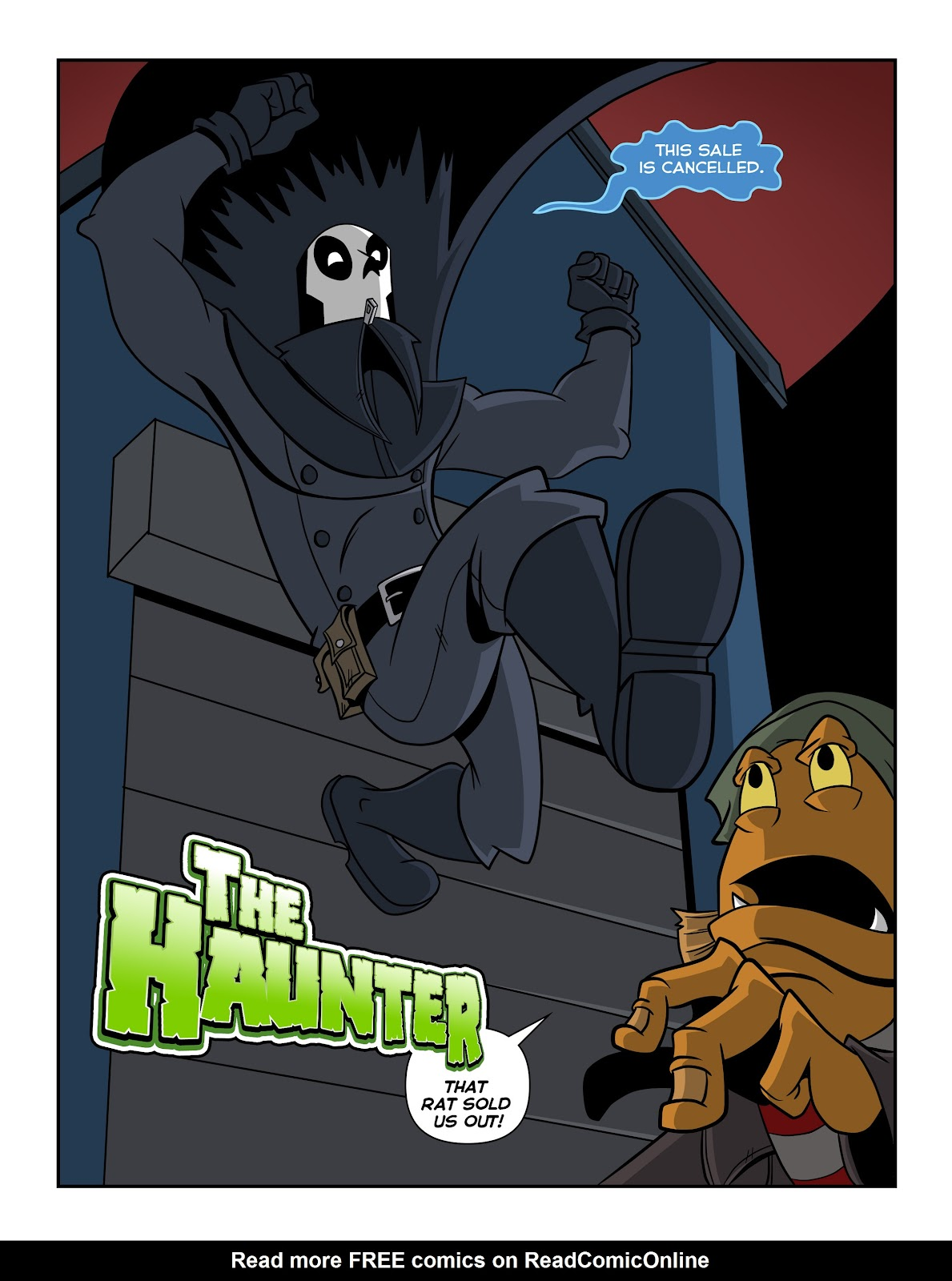 Read online The Haunter comic -  Issue #2 - 7