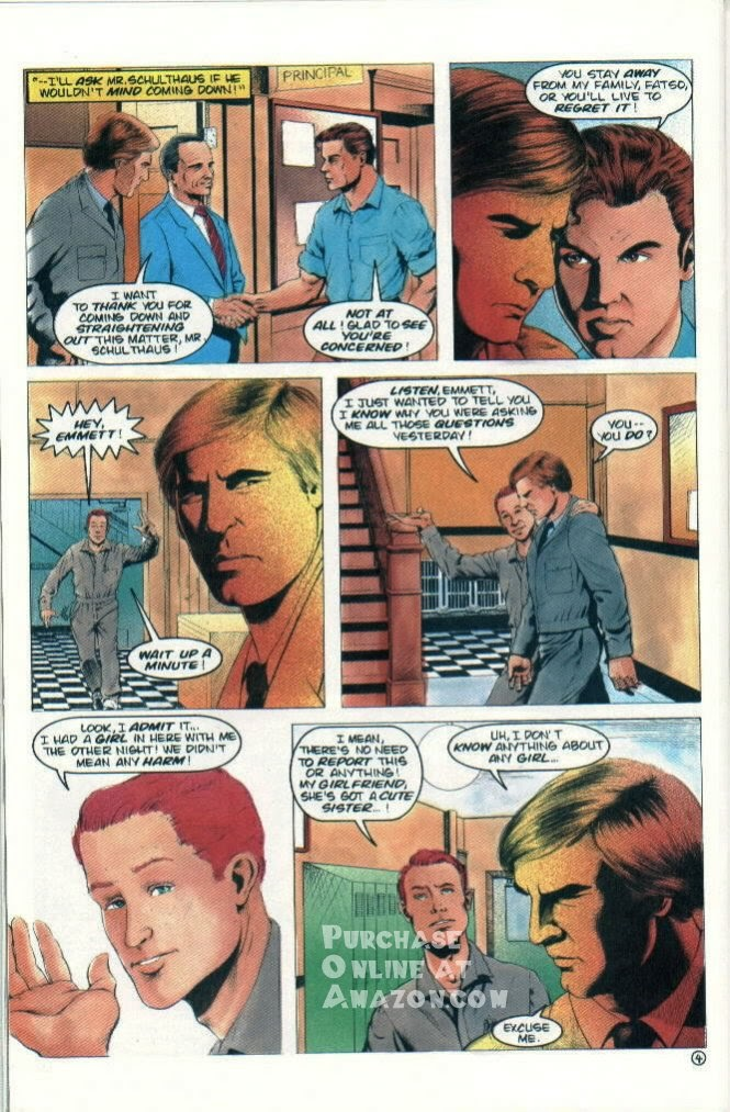 Read online Quantum Leap comic -  Issue #7 - 20