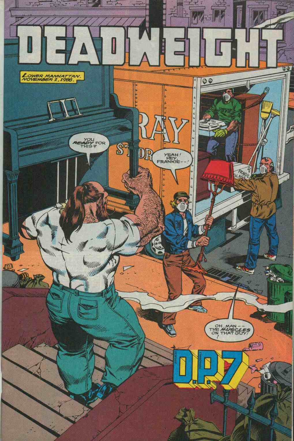 Read online DP7 comic -  Issue #29 - 2