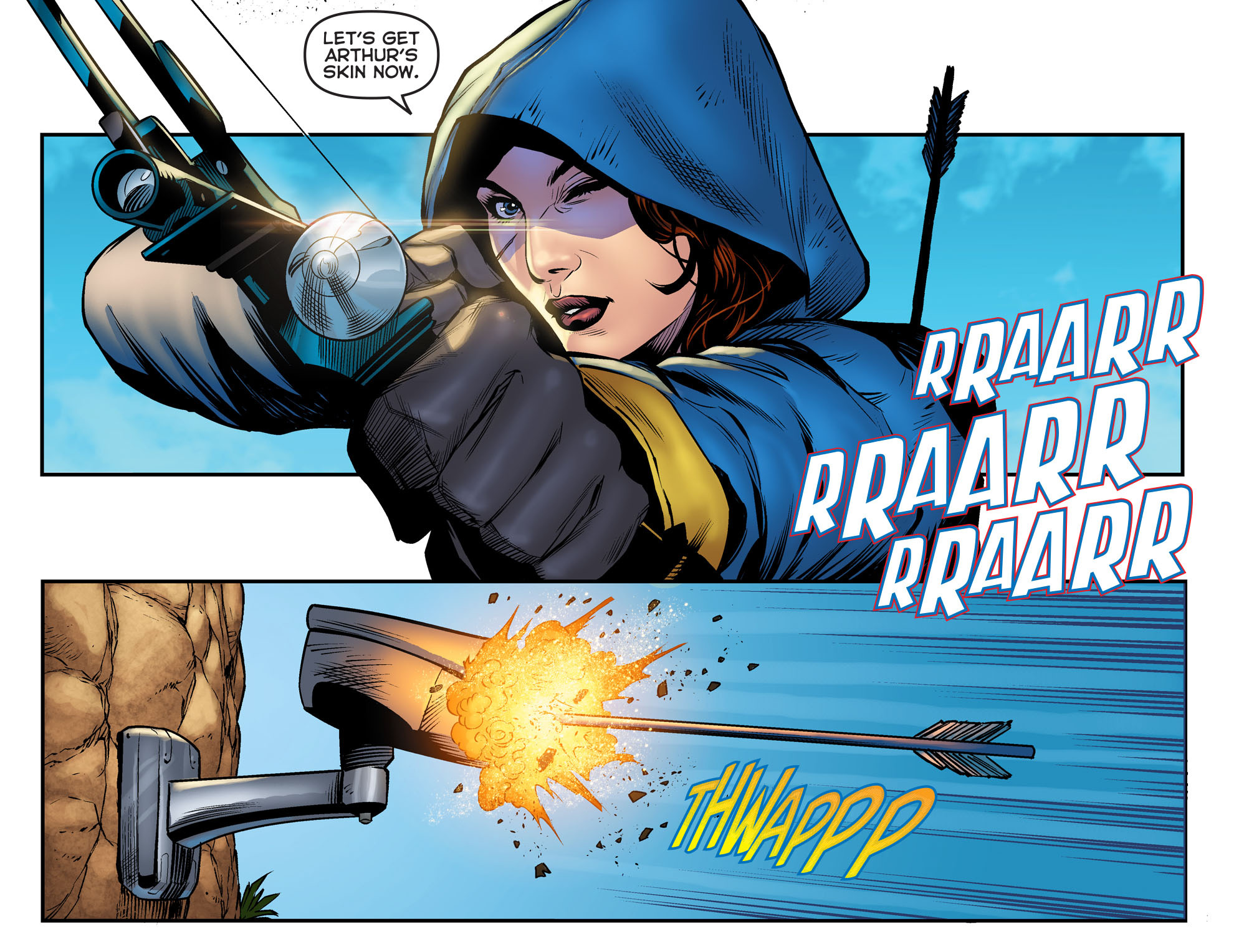 Read online Arrow: The Dark Archer comic -  Issue #2 - 16