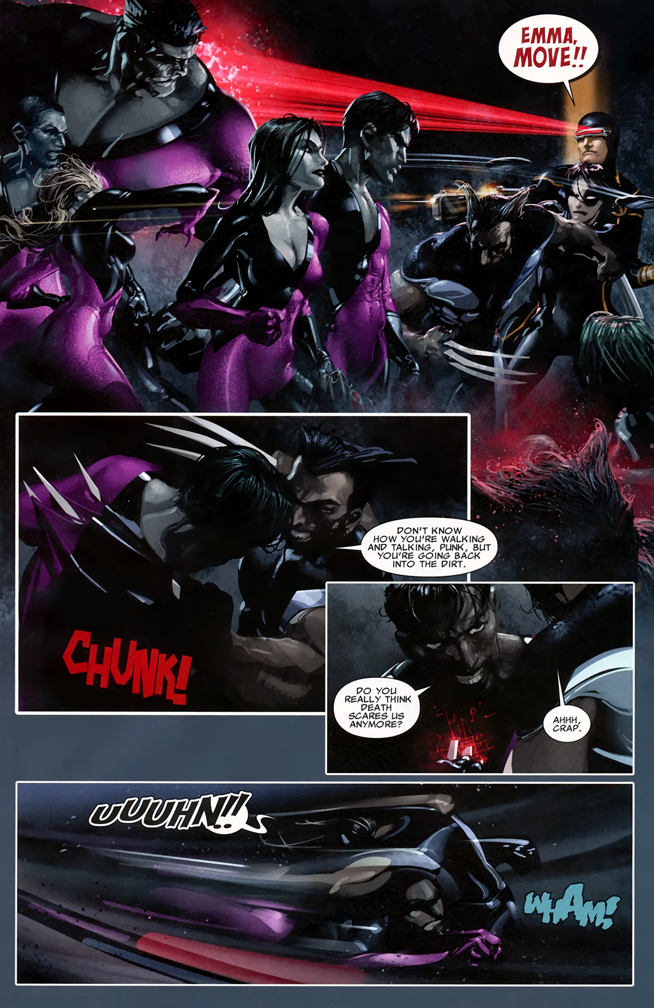 Read online X Necrosha comic -  Issue # Full - 24