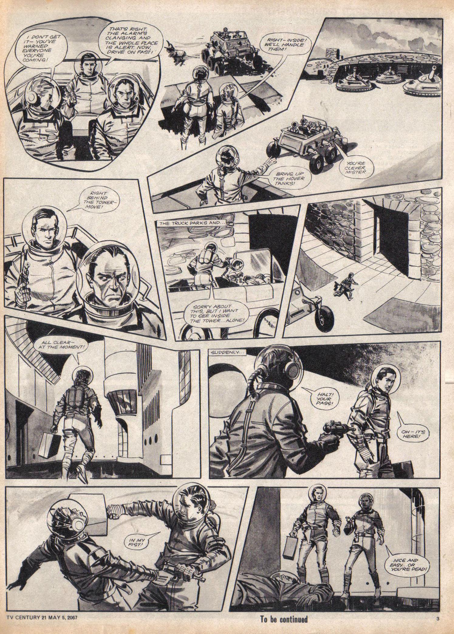 Read online TV Century 21 (TV 21) comic -  Issue #120 - 3