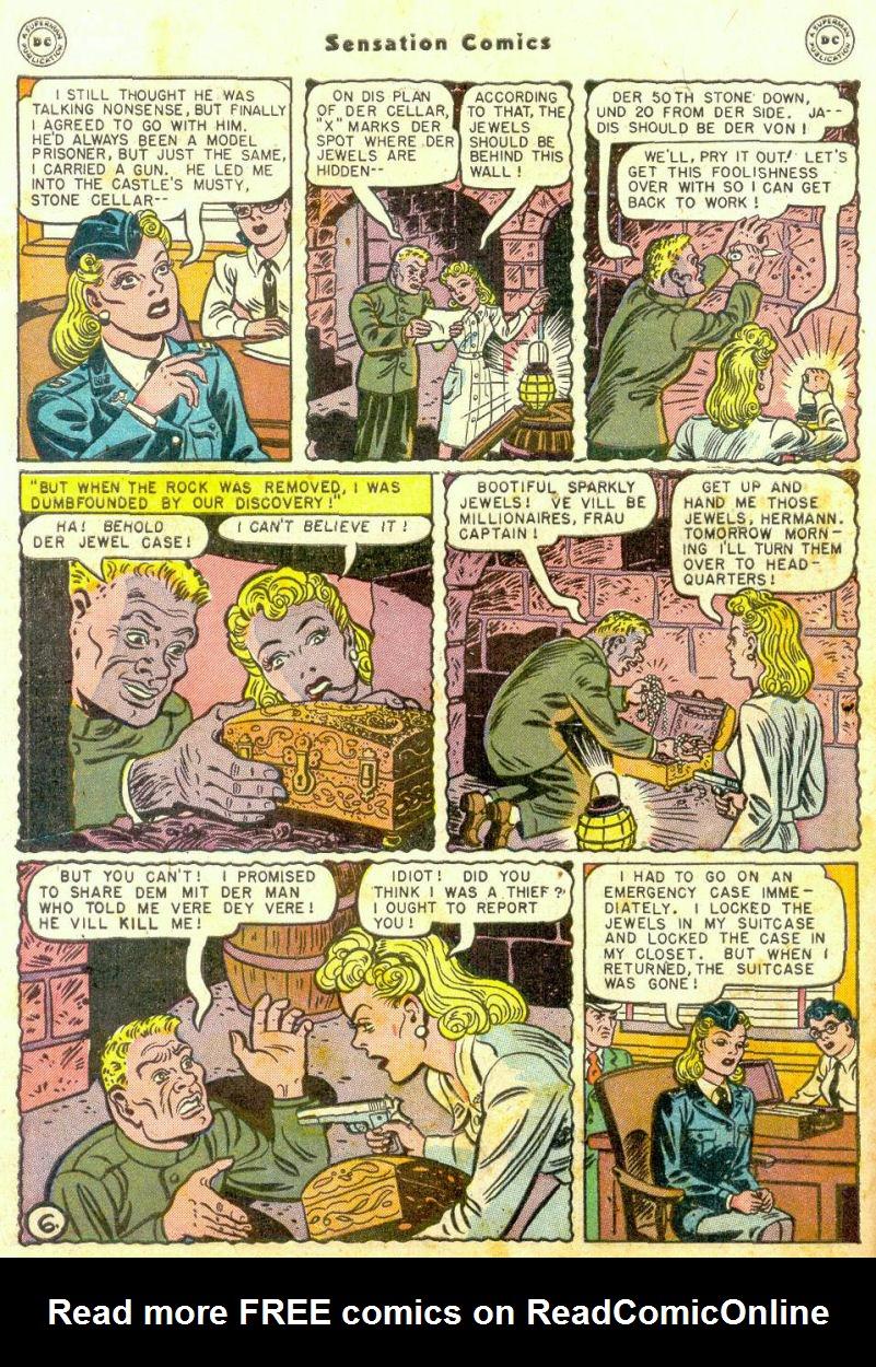 Read online Sensation (Mystery) Comics comic -  Issue #74 - 8