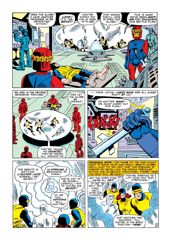 Read online Uncanny X-Men (1963) comic -  Issue #16 - 10
