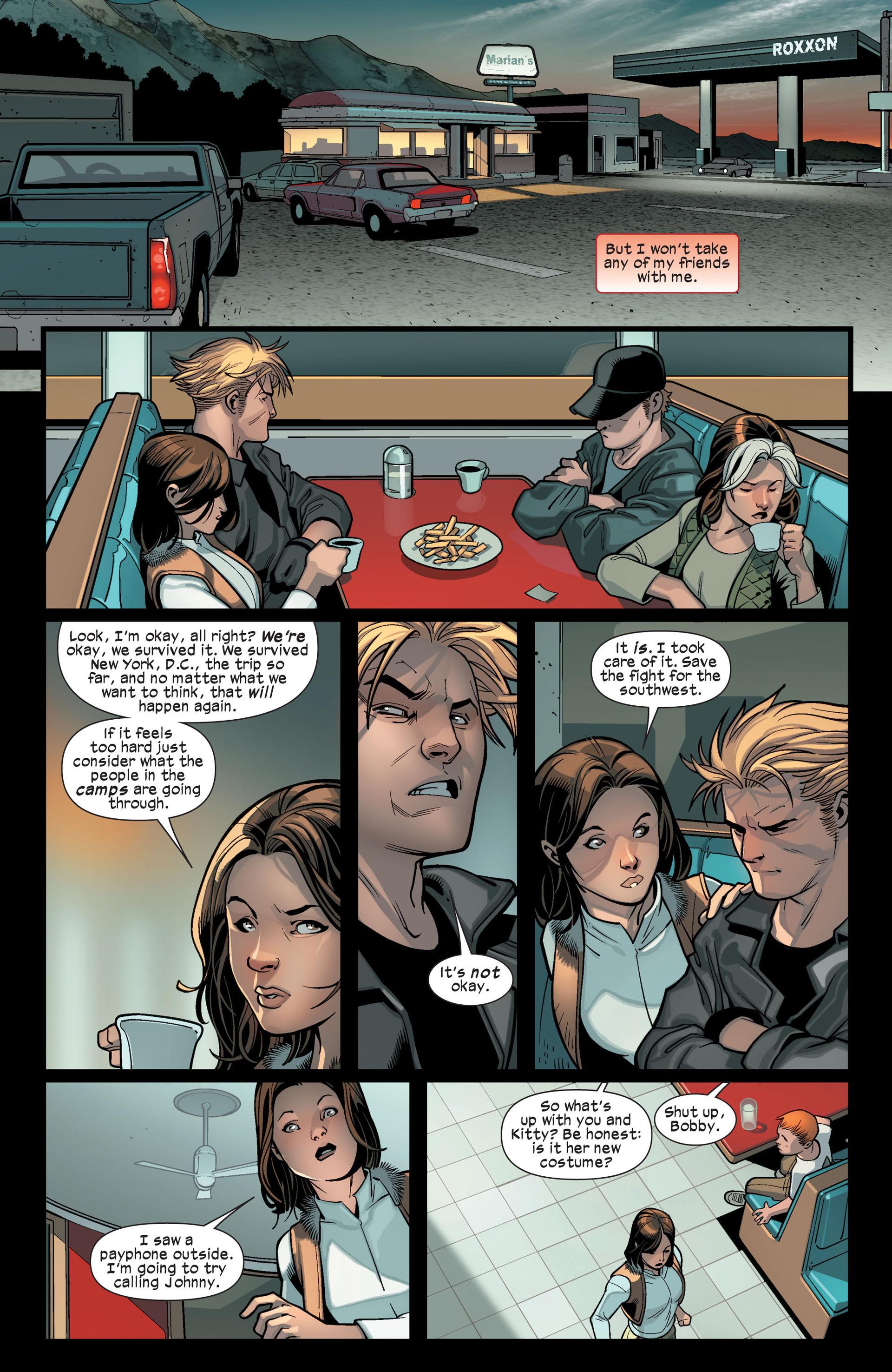 Read online Ultimate Comics X-Men comic -  Issue #14 - 20