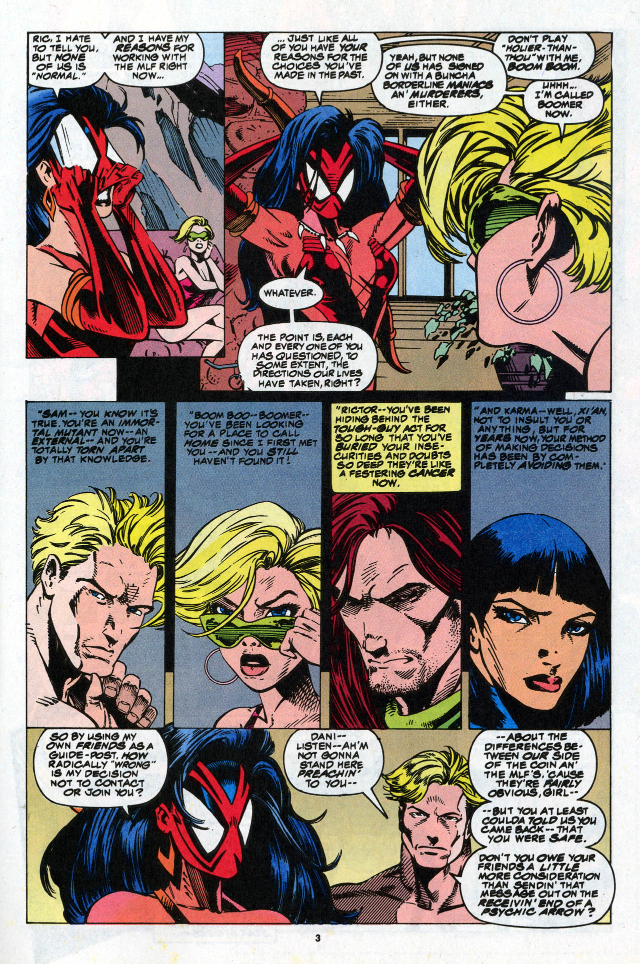 Read online X-Force (1991) comic -  Issue #34 - 5