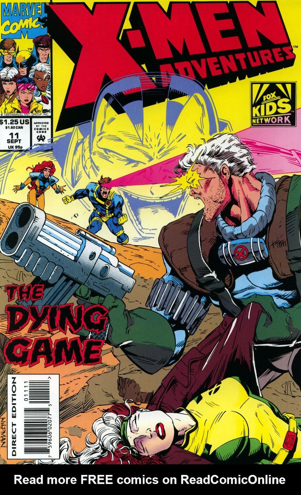X-Men Adventures (1992) 11 Page 1