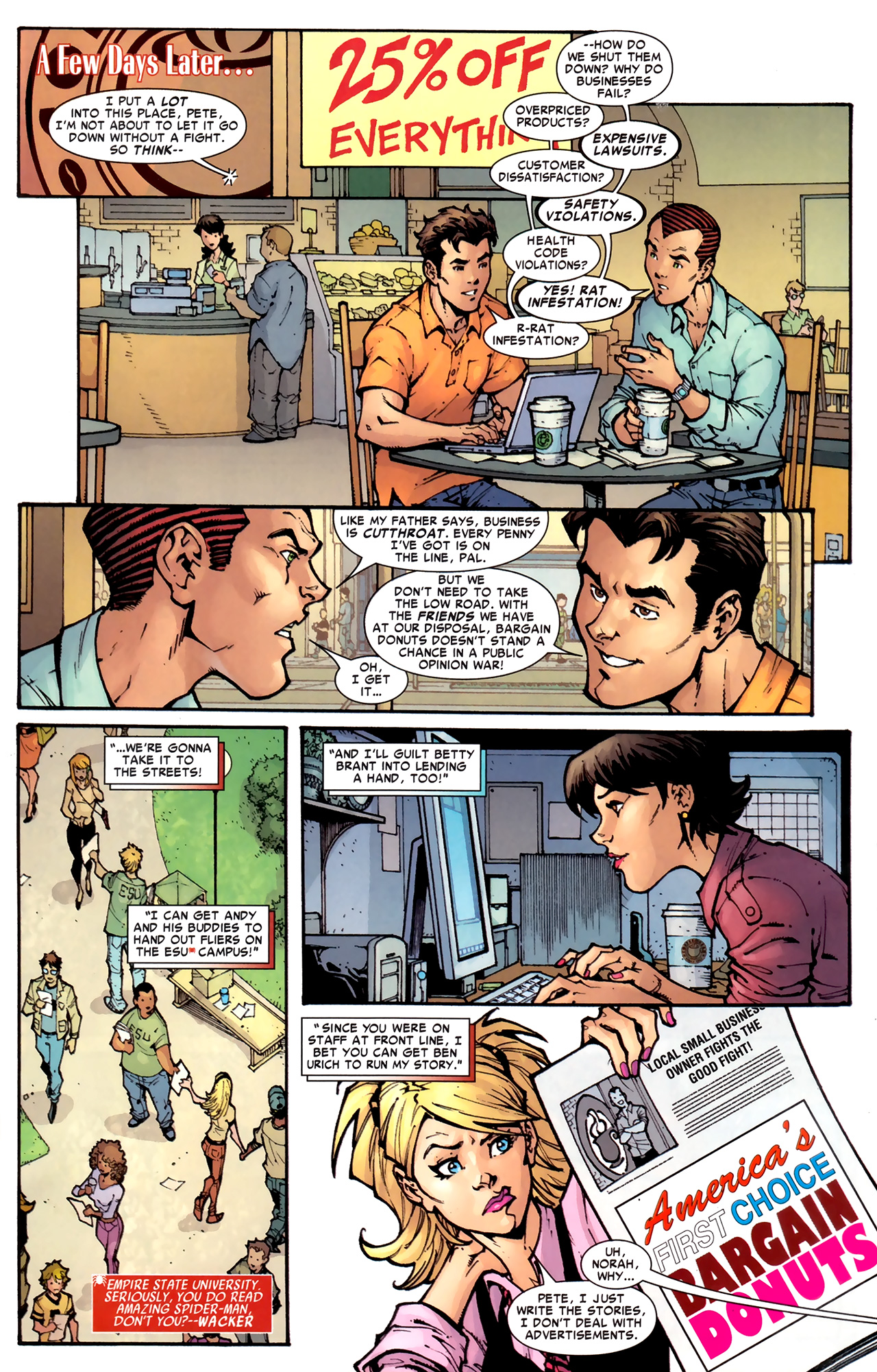 Read online Amazing Spider-Man Presents: American Son comic -  Issue #1 - 28