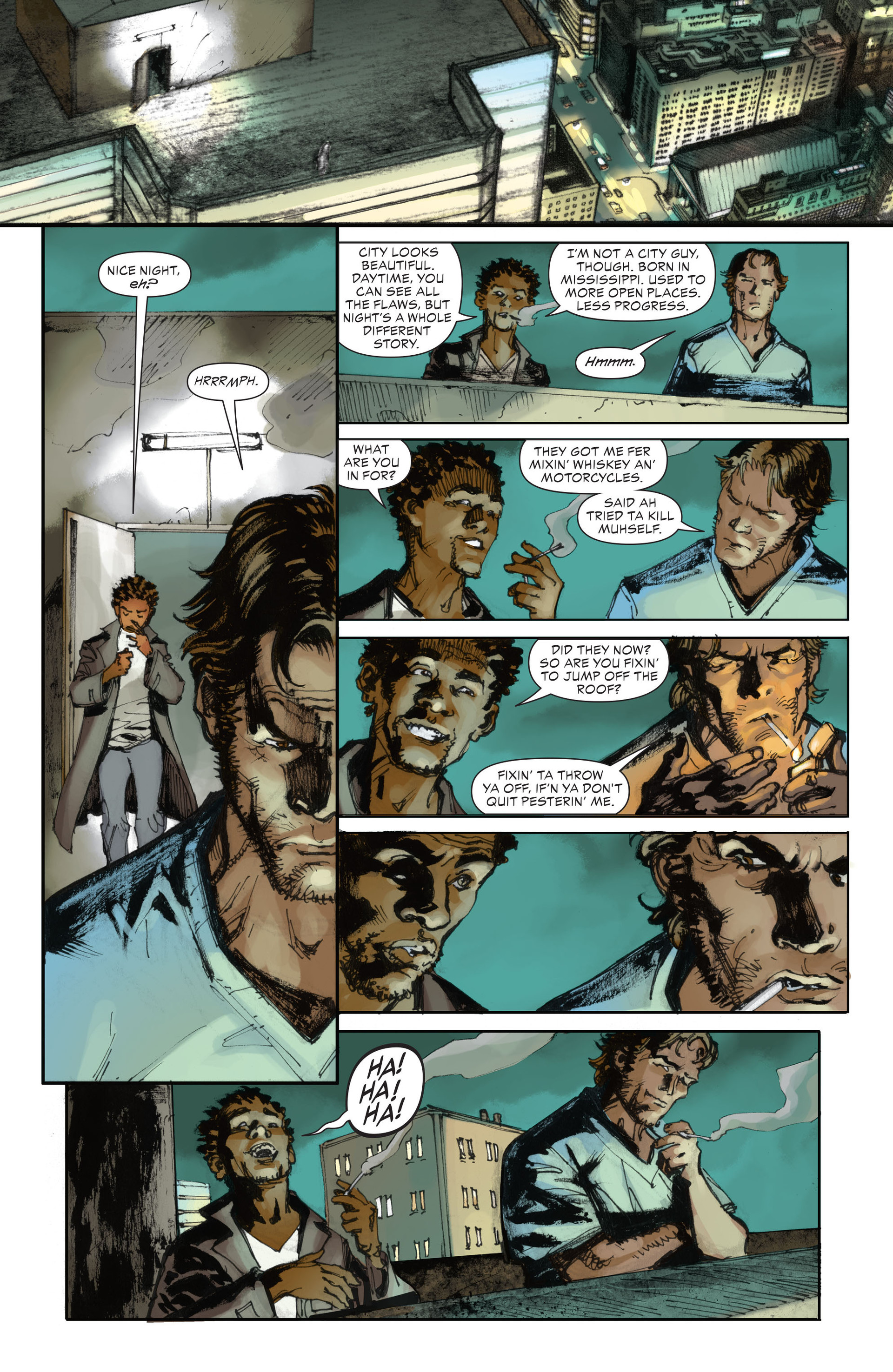 Read online All-Star Western (2011) comic -  Issue #28 - 14