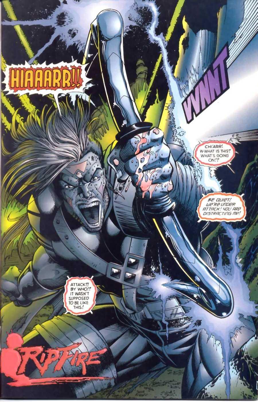 Read online Ultraverse Premiere comic -  Issue #1 - 2