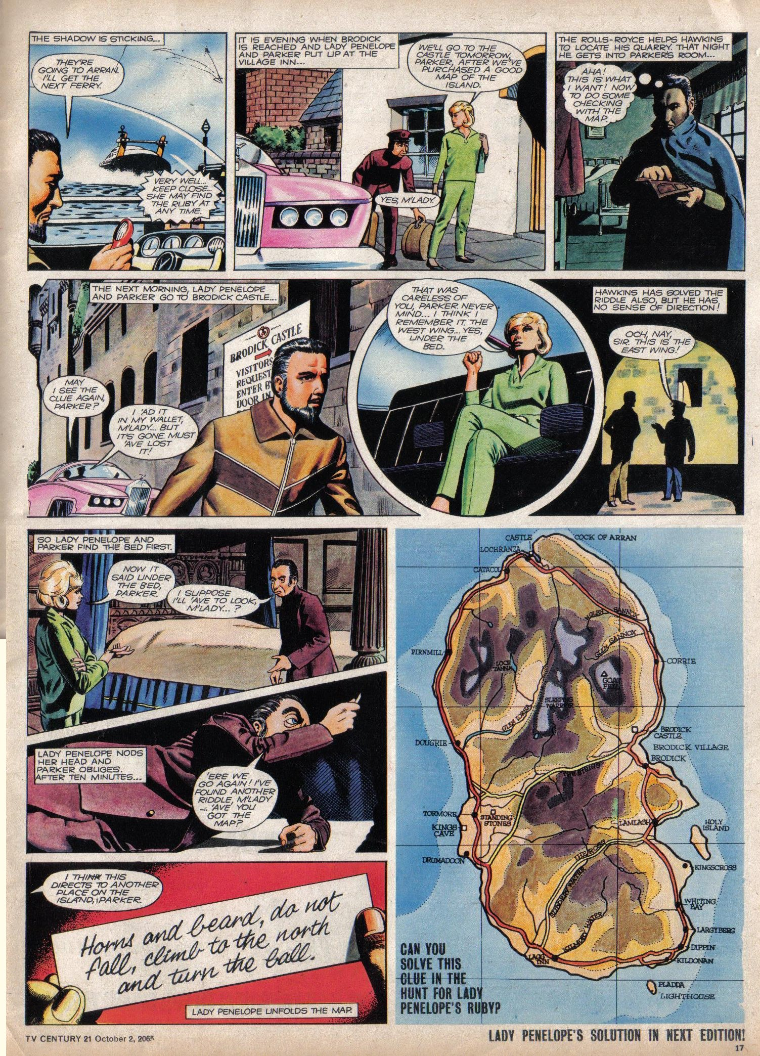 Read online TV Century 21 (TV 21) comic -  Issue #37 - 16
