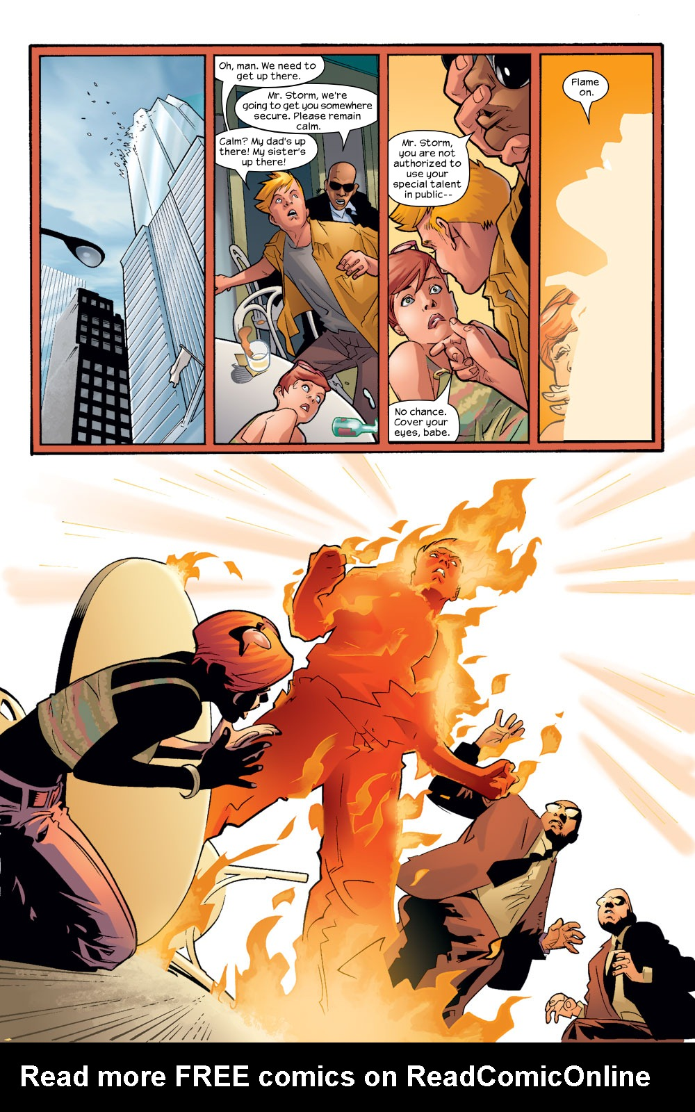 Read online Ultimate Fantastic Four (2004) comic -  Issue #8 - 19