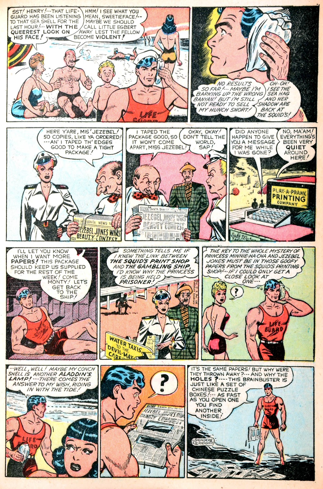 Read online Famous Funnies comic -  Issue #195 - 9