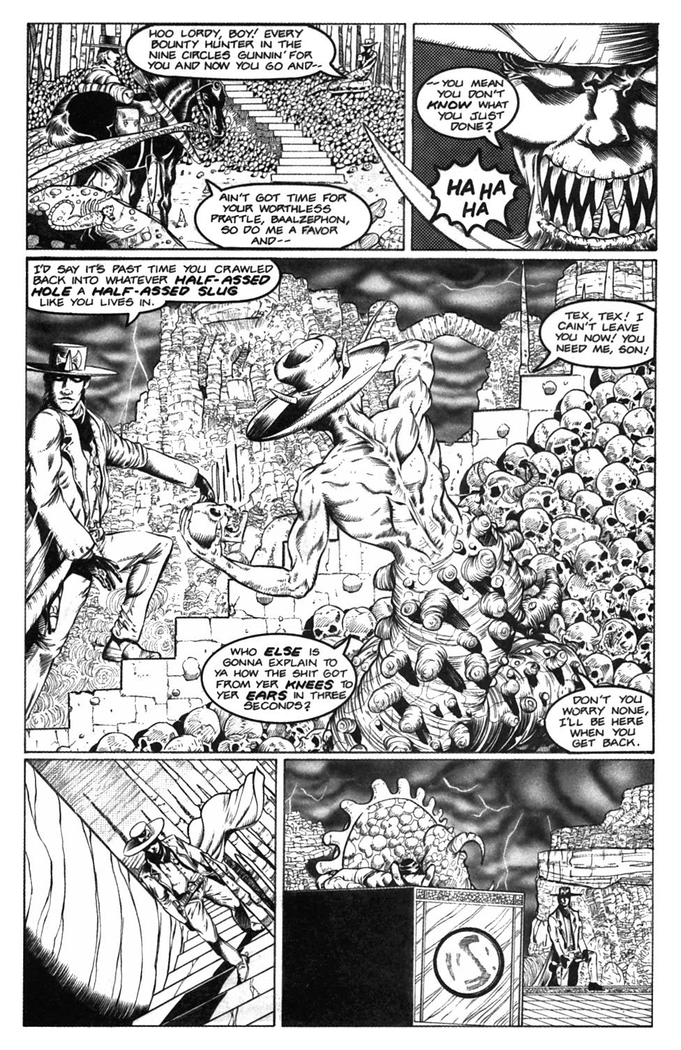Read online Gunfighters in Hell comic -  Issue #2 - 22