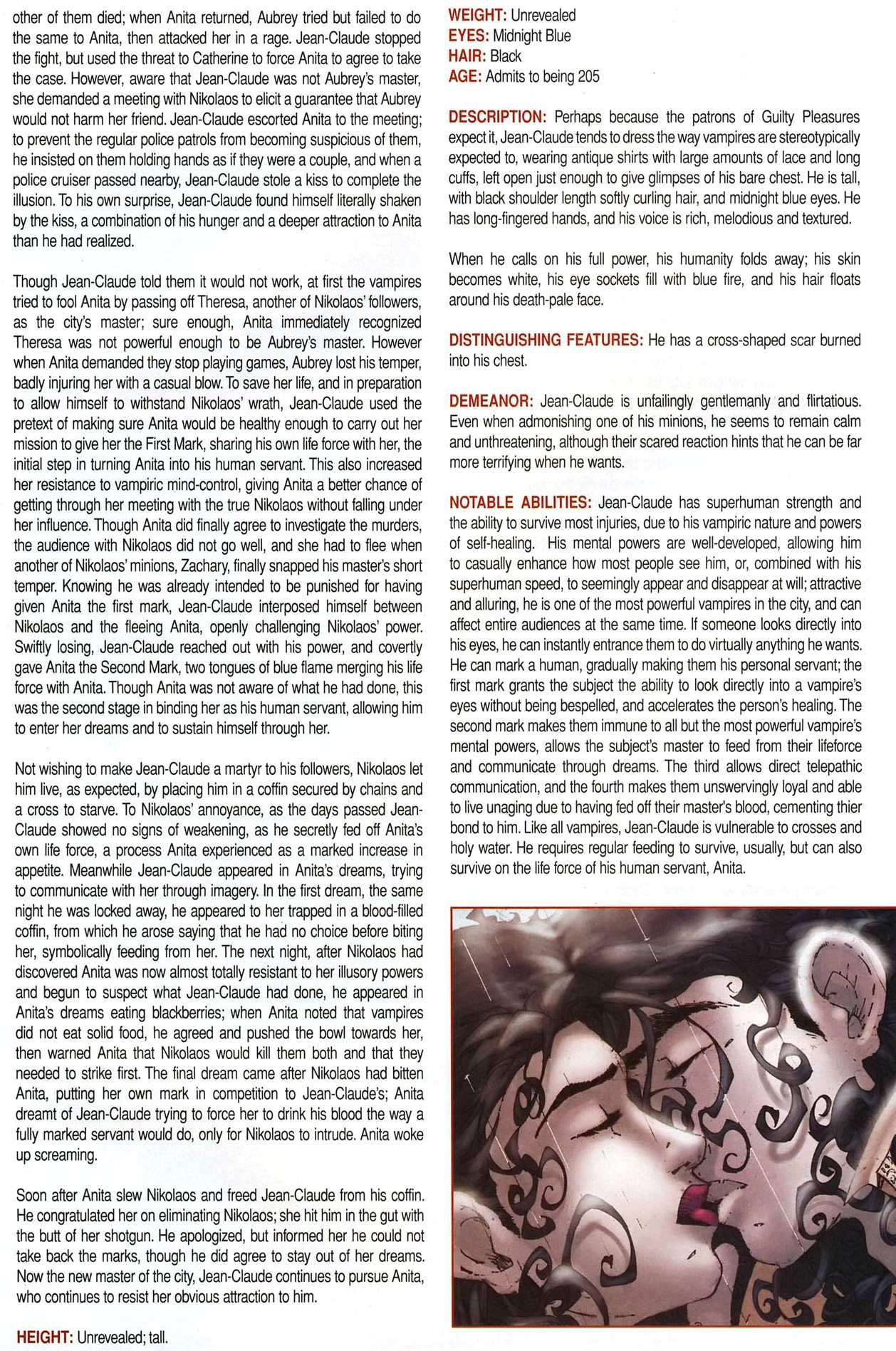 Read online Anita Blake, Vampire Hunter: Guilty Pleasures Handbook comic -  Issue #Anita Blake, Vampire Hunter: Guilty Pleasures Handbook Full - 20
