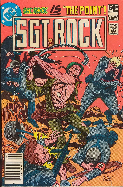 Read online Sgt. Rock comic -  Issue #356 - 1
