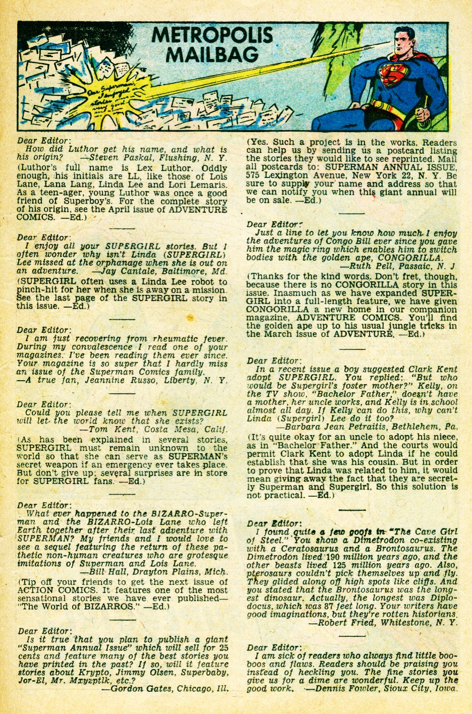 Read online Action Comics (1938) comic -  Issue #262 - 19