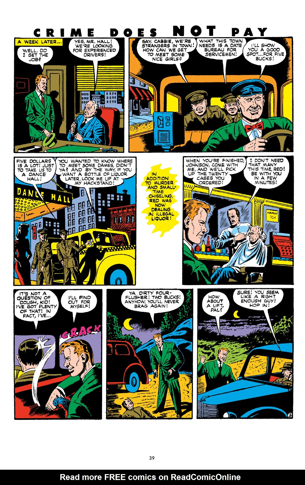 Read online Crime Does Not Pay Archives comic -  Issue # TPB 8 (Part 1) - 41
