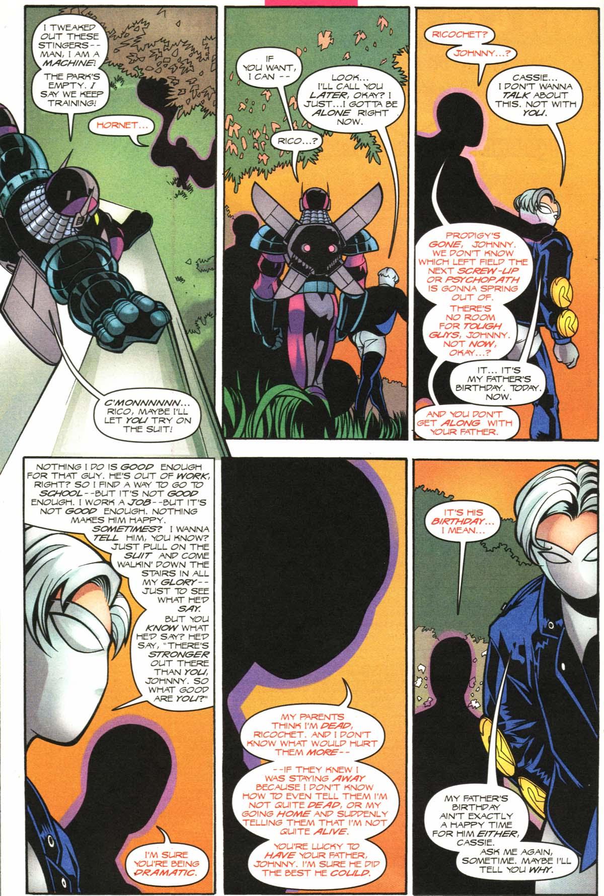 Read online Slingers comic -  Issue #9 - 10