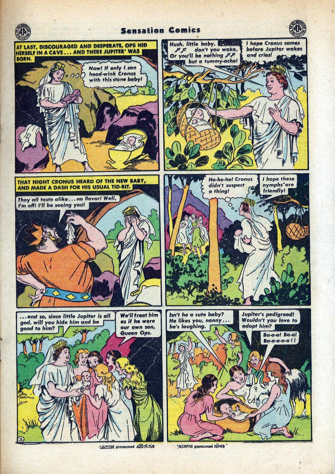Read online Sensation (Mystery) Comics comic -  Issue #45 - 25