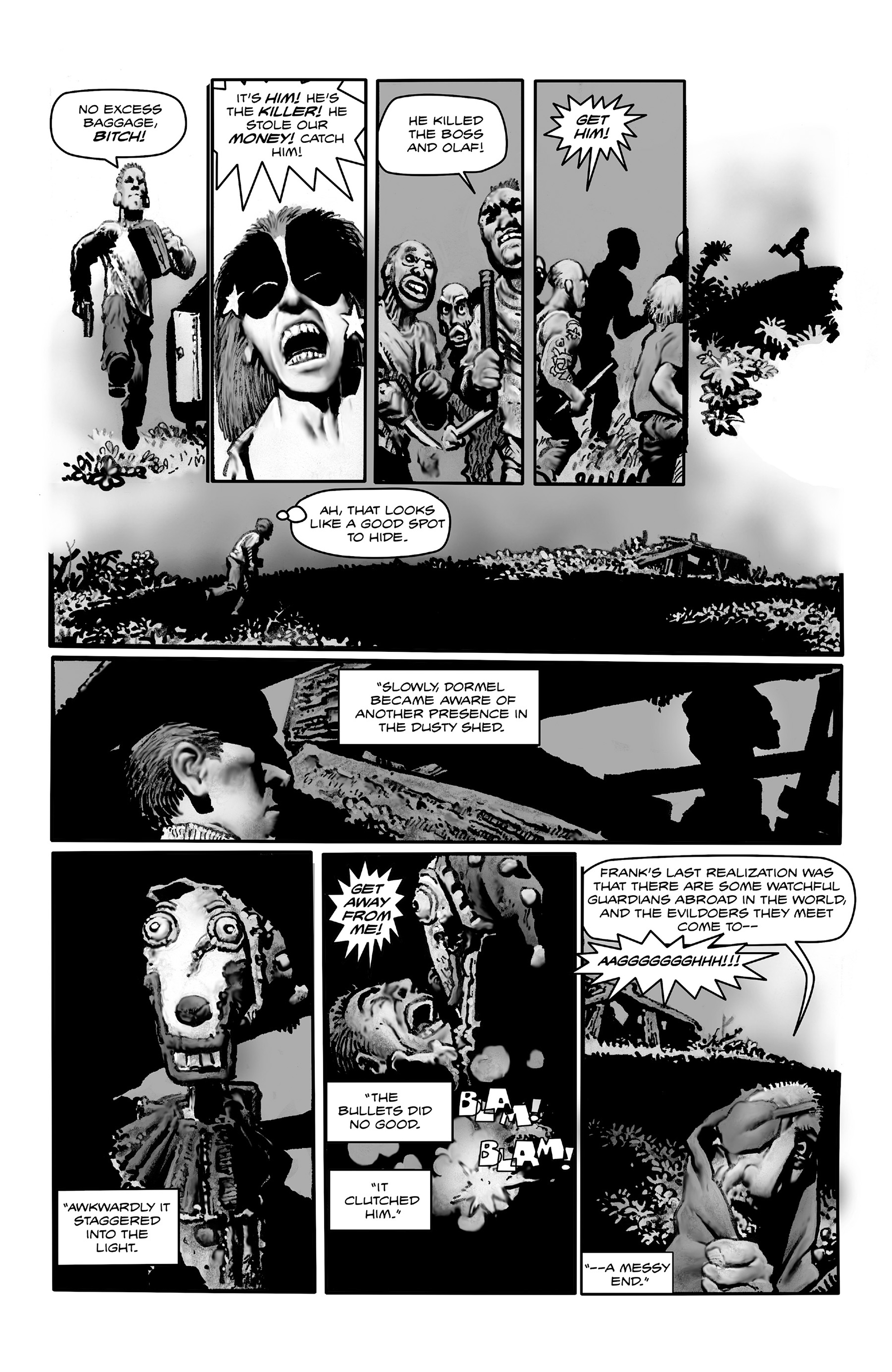 Read online Shadows on the Grave comic -  Issue #4 - 10