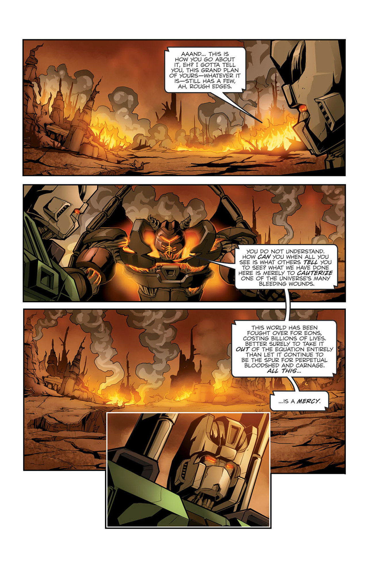 Read online Transformers Spotlight: Sixshot comic -  Issue # Full - 21