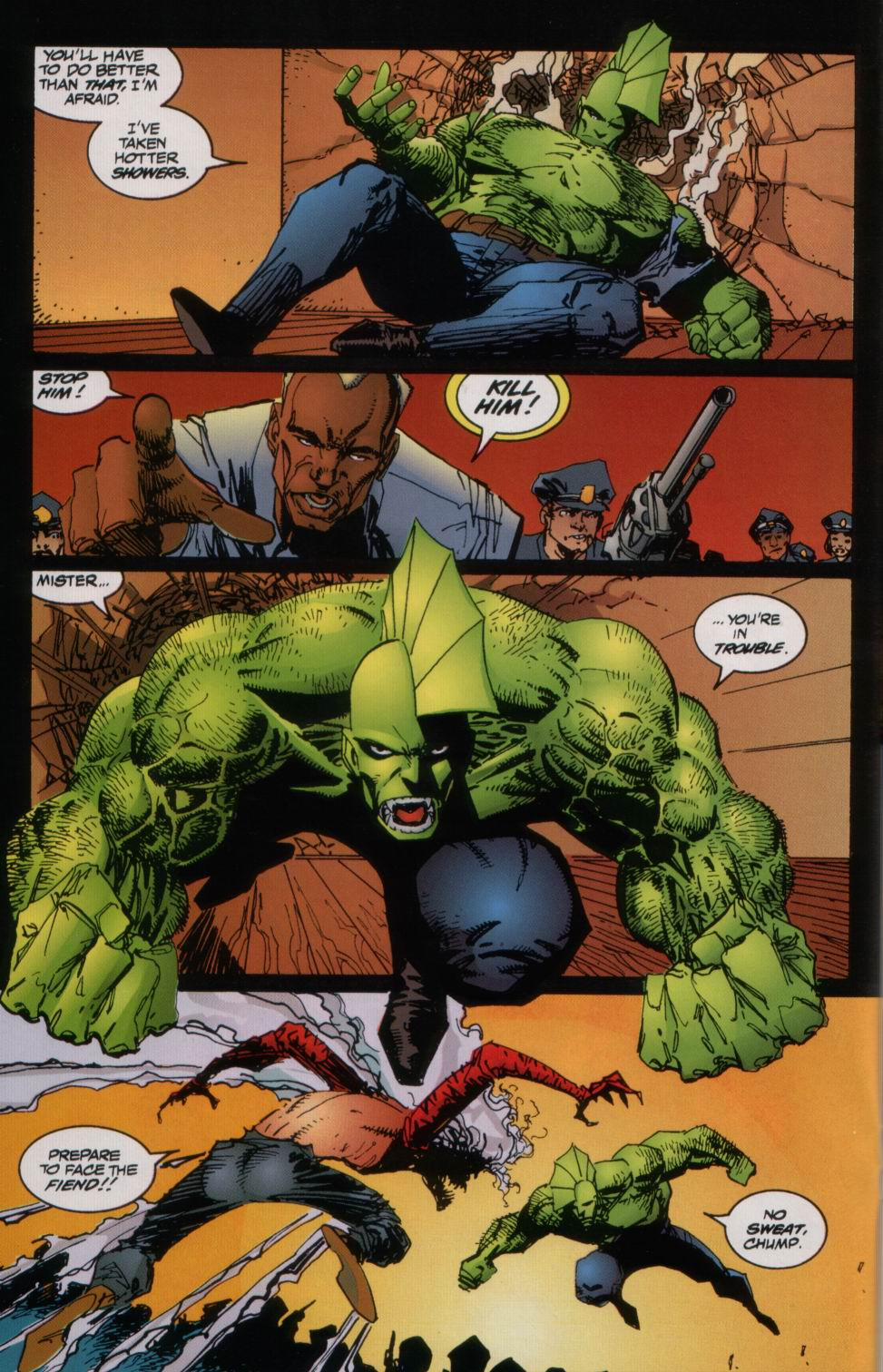 The Savage Dragon (1993) Issue #3 #5 - English 19