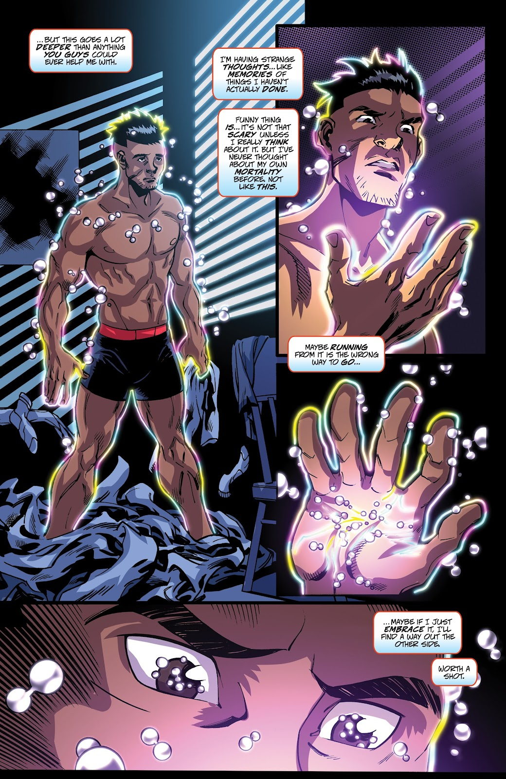 Read online Accell comic -  Issue #17 - 14