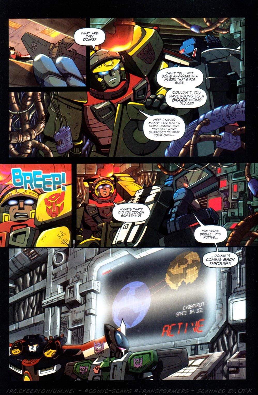 Read online Transformers Armada comic -  Issue #10 - 14