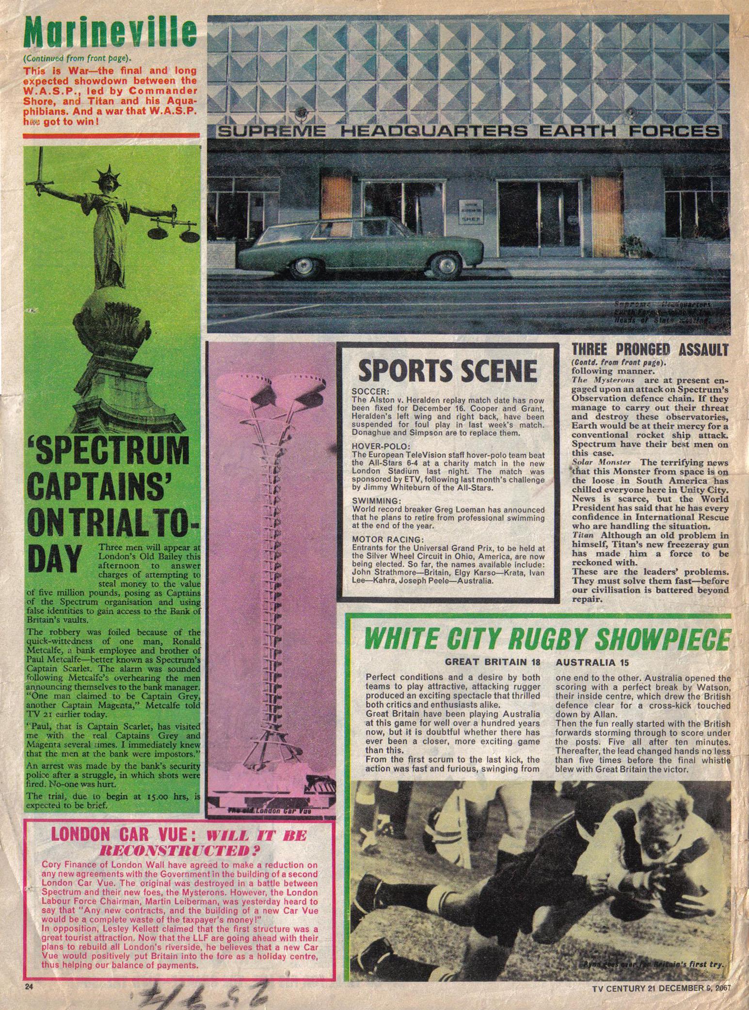 Read online TV Century 21 (TV 21) comic -  Issue #151 - 24
