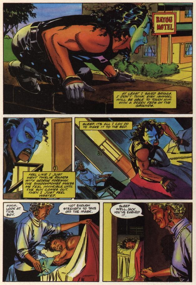 Read online Shadowman (1992) comic -  Issue #36 - 8
