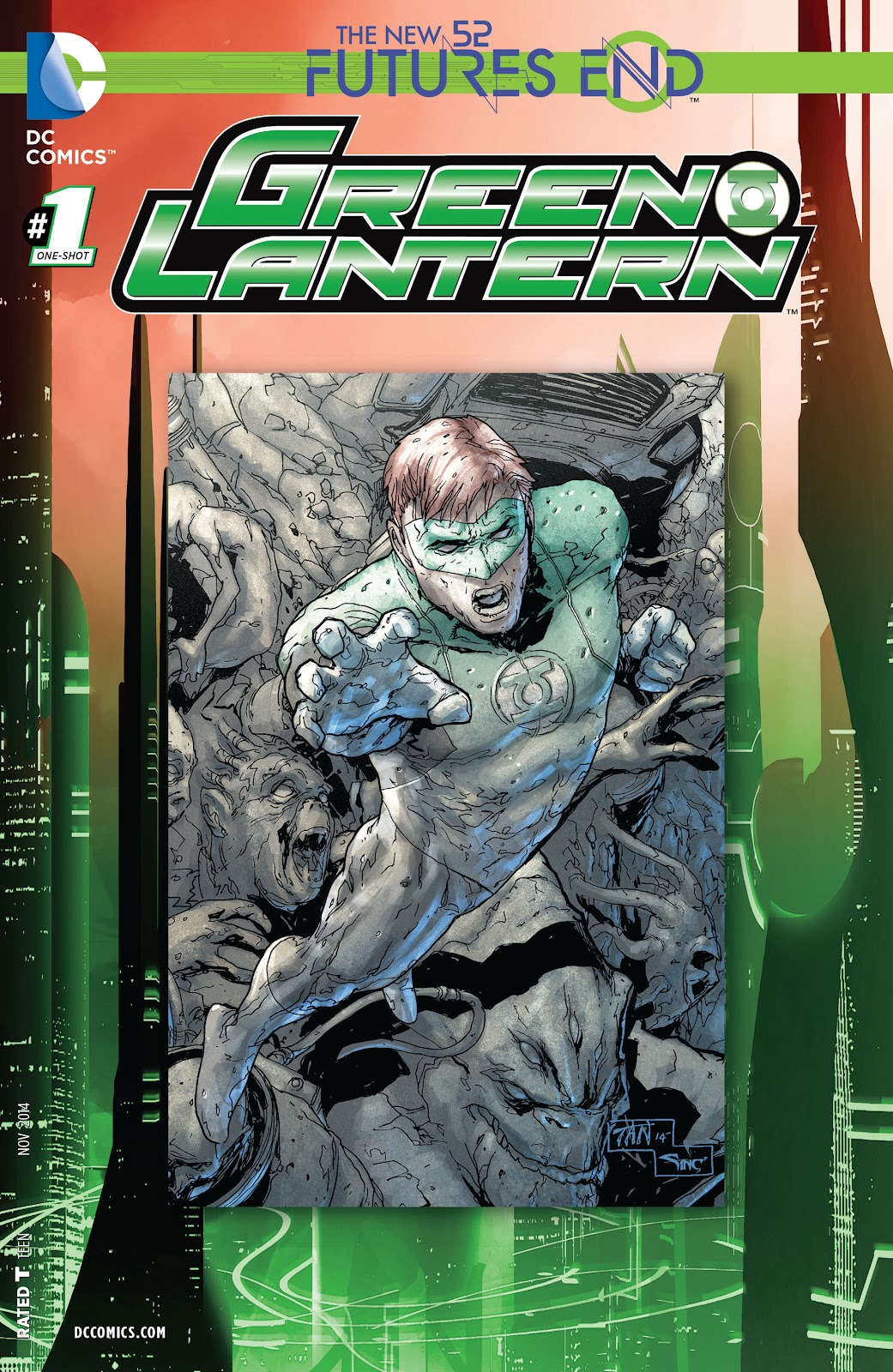 Green Lantern: Futures End Full Page 1