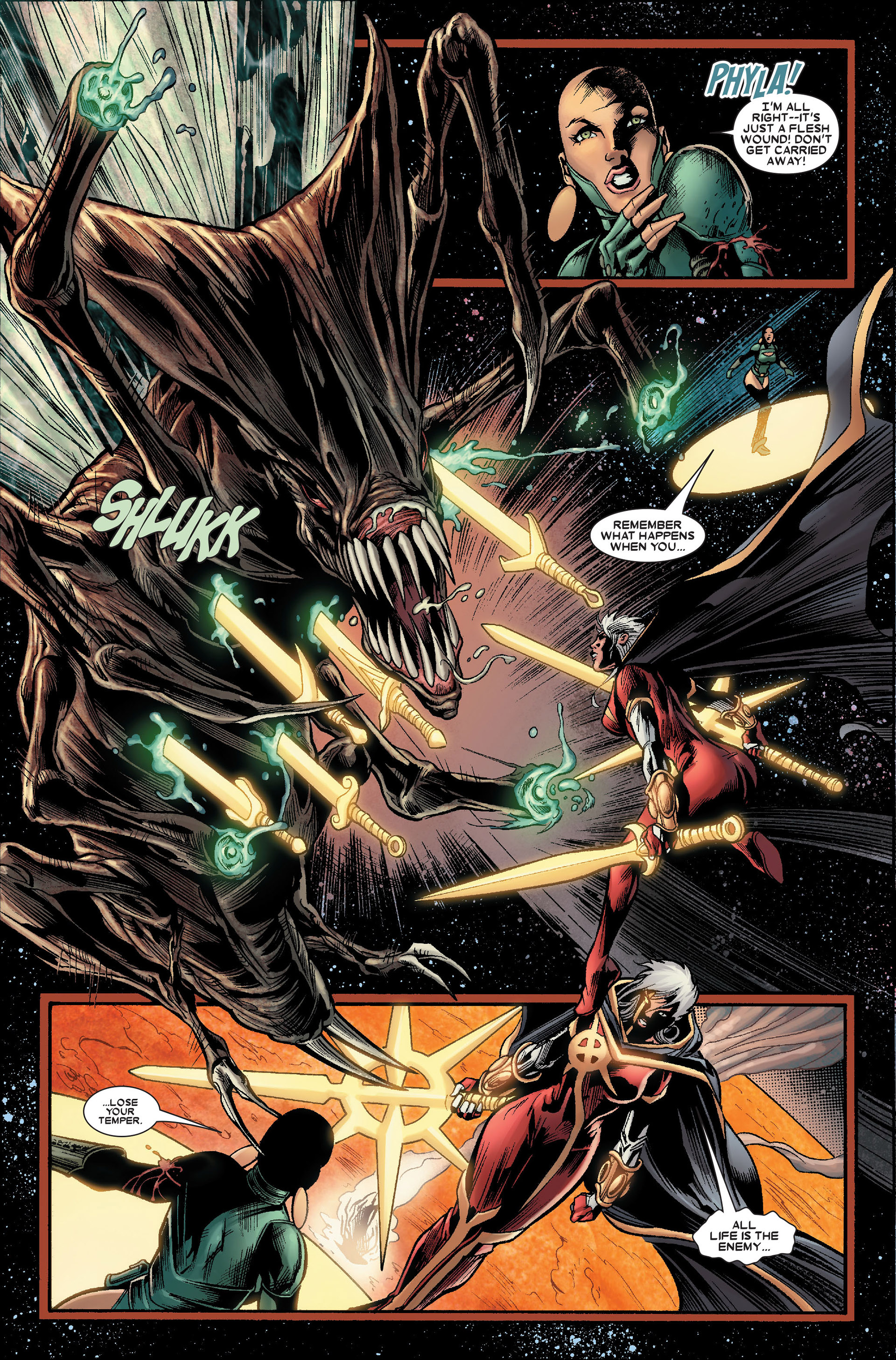 Read online Annihilation: Conquest - Quasar comic -  Issue #2 - 5
