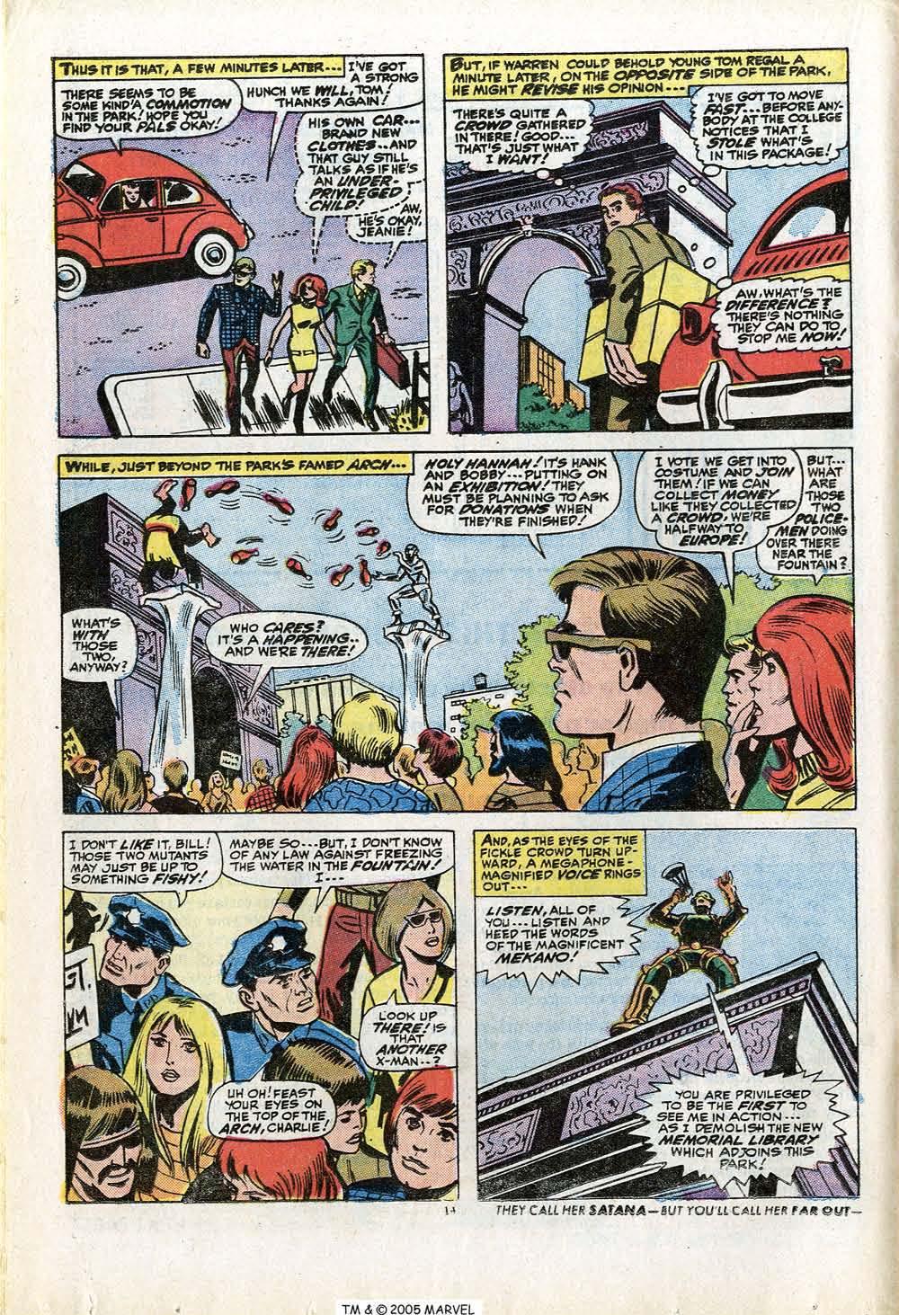 Uncanny X-Men (1963) 84 Page 15