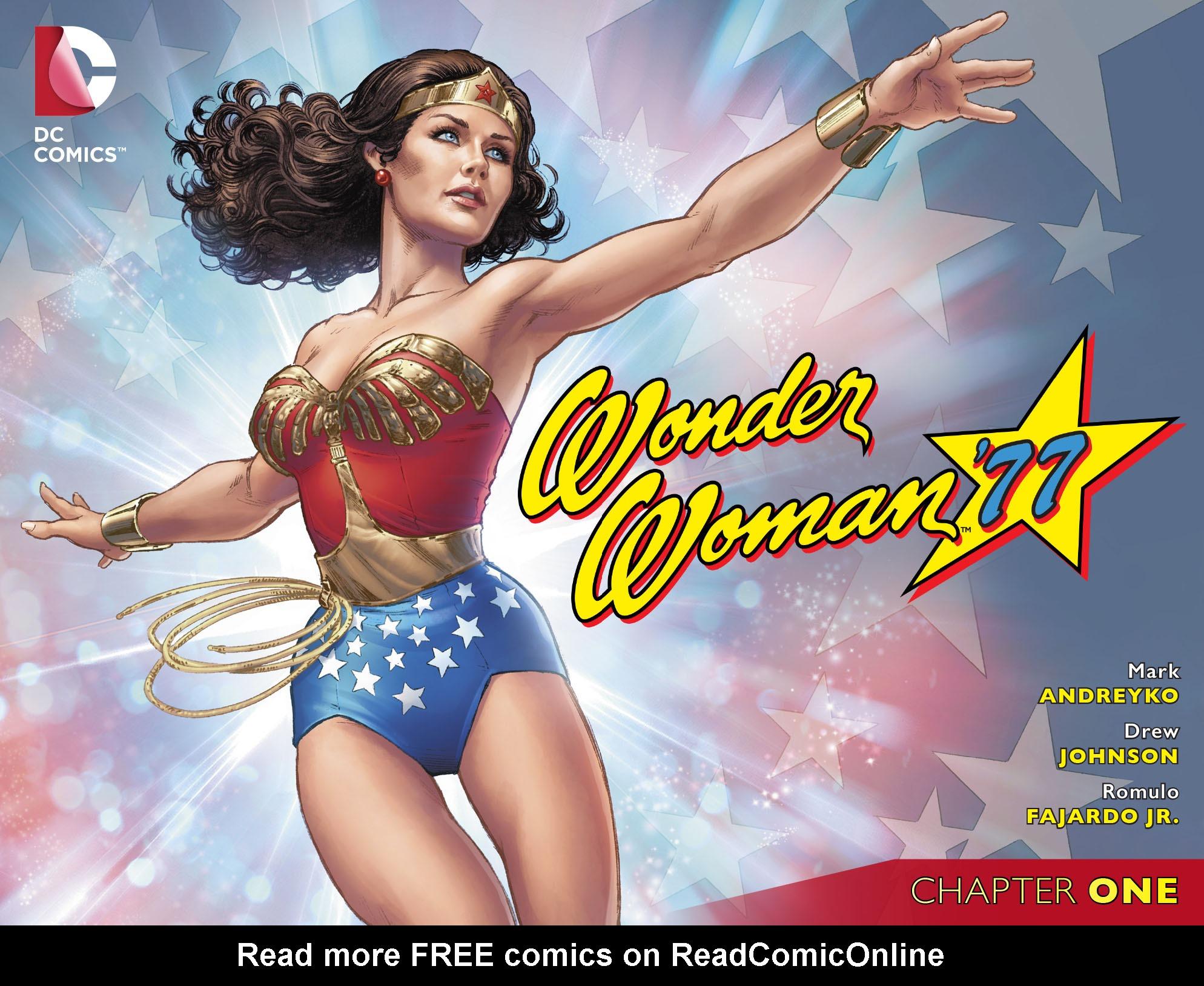 Read online Wonder Woman '77 [I] comic -  Issue #1 - 1
