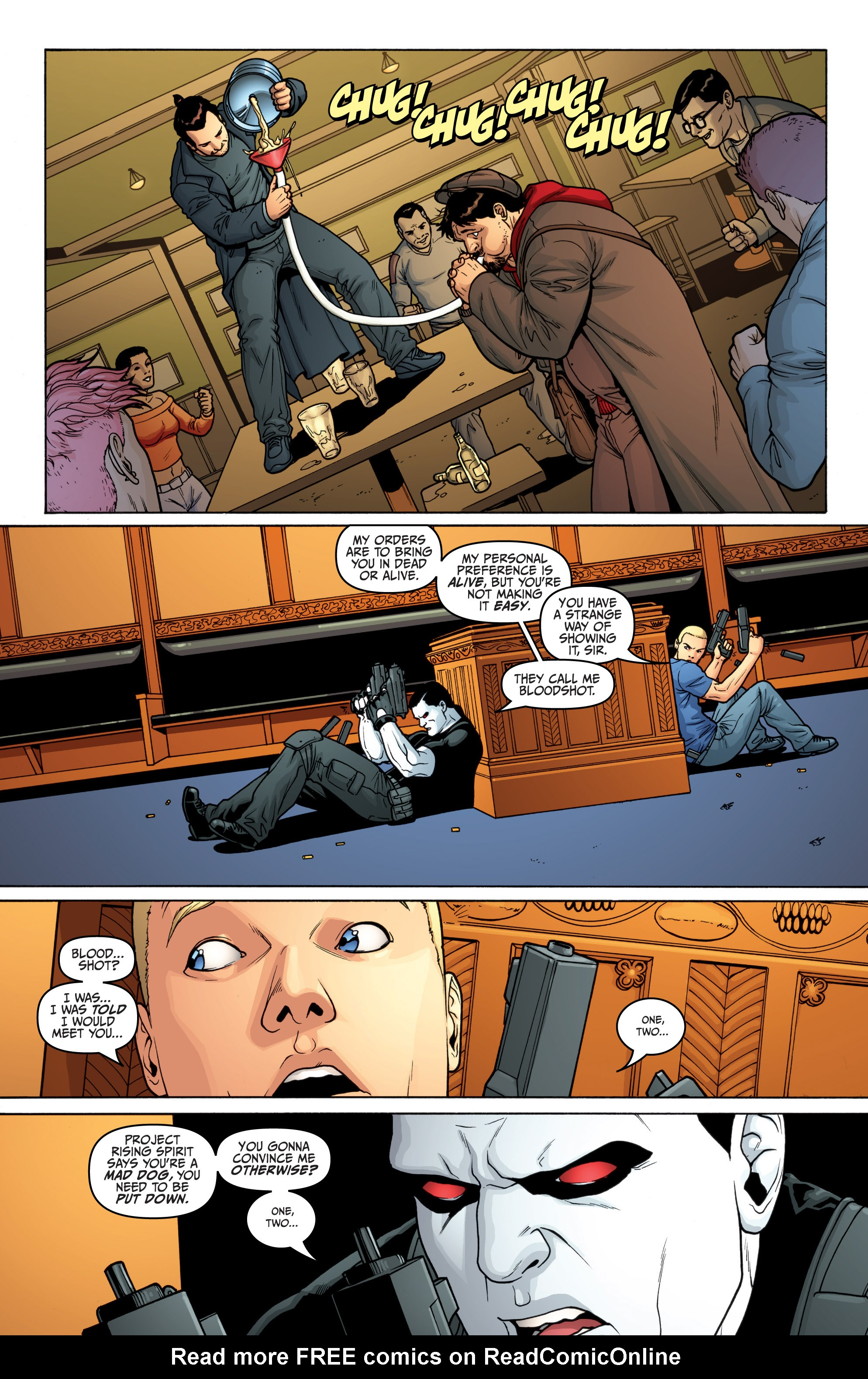 Read online Archer and Armstrong comic -  Issue #Archer and Armstrong _TPB 5 - 46