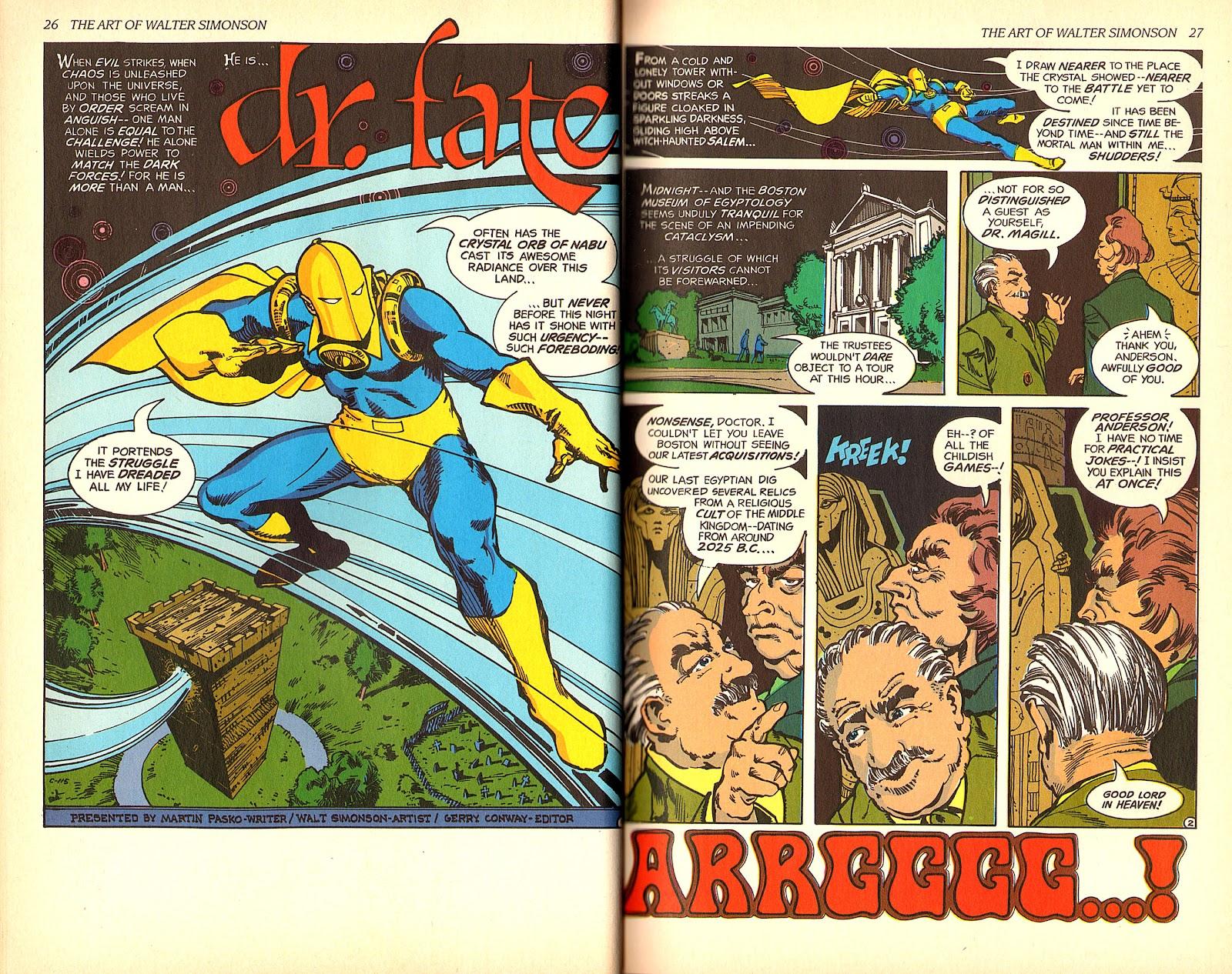 Read online The Art of Walter Simonson comic -  Issue # TPB - 15