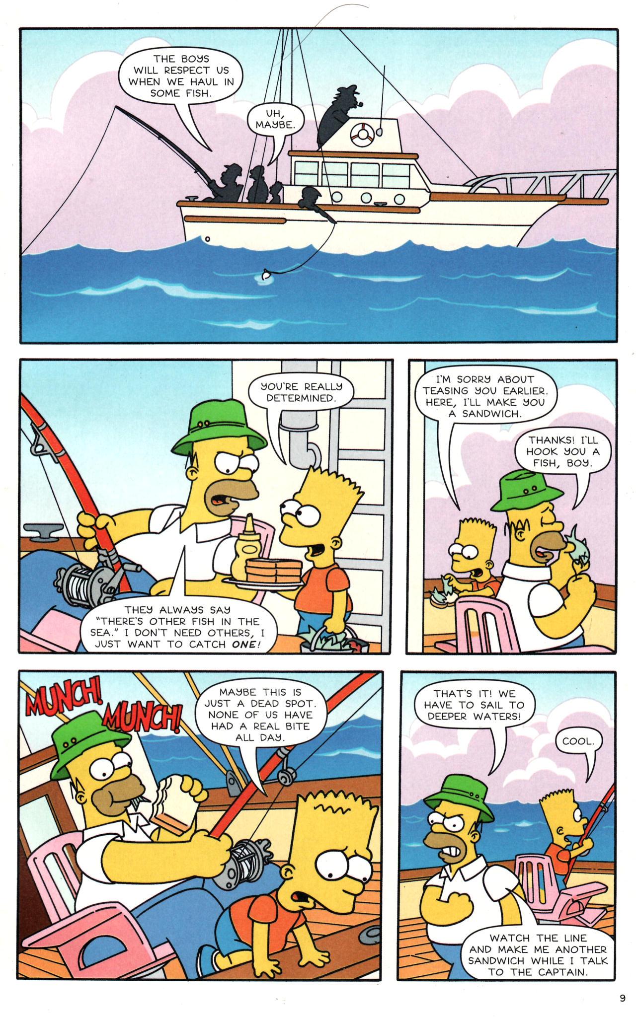Read online Simpsons Comics comic -  Issue #135 - 8