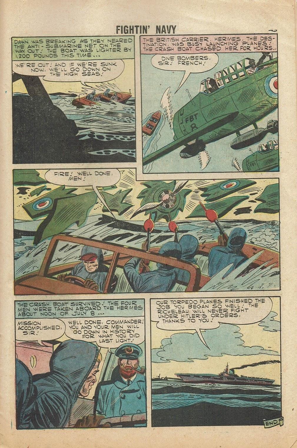 Read online Fightin' Navy comic -  Issue #81 - 27