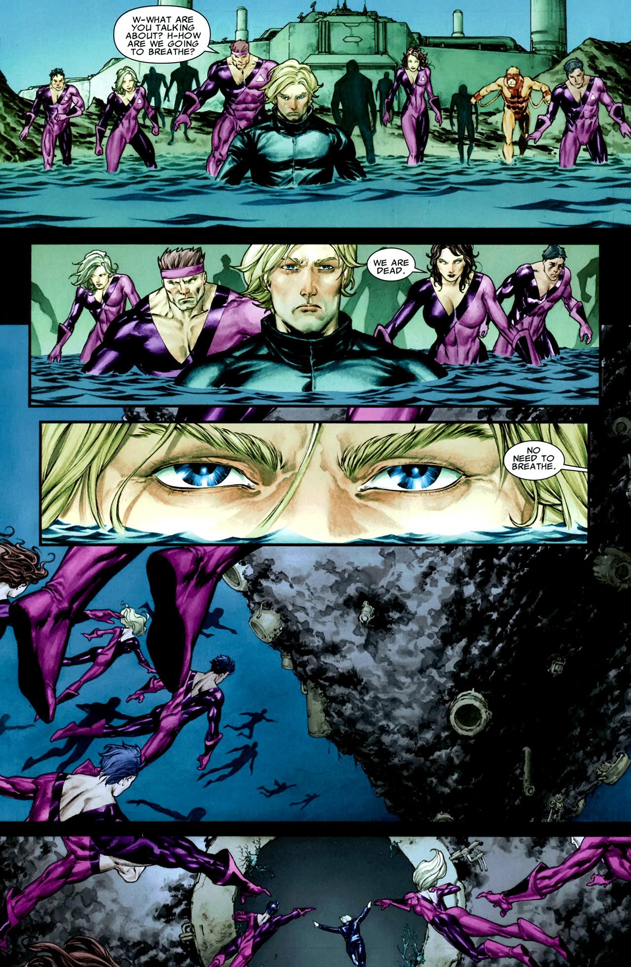Read online X Necrosha comic -  Issue # Full - 34