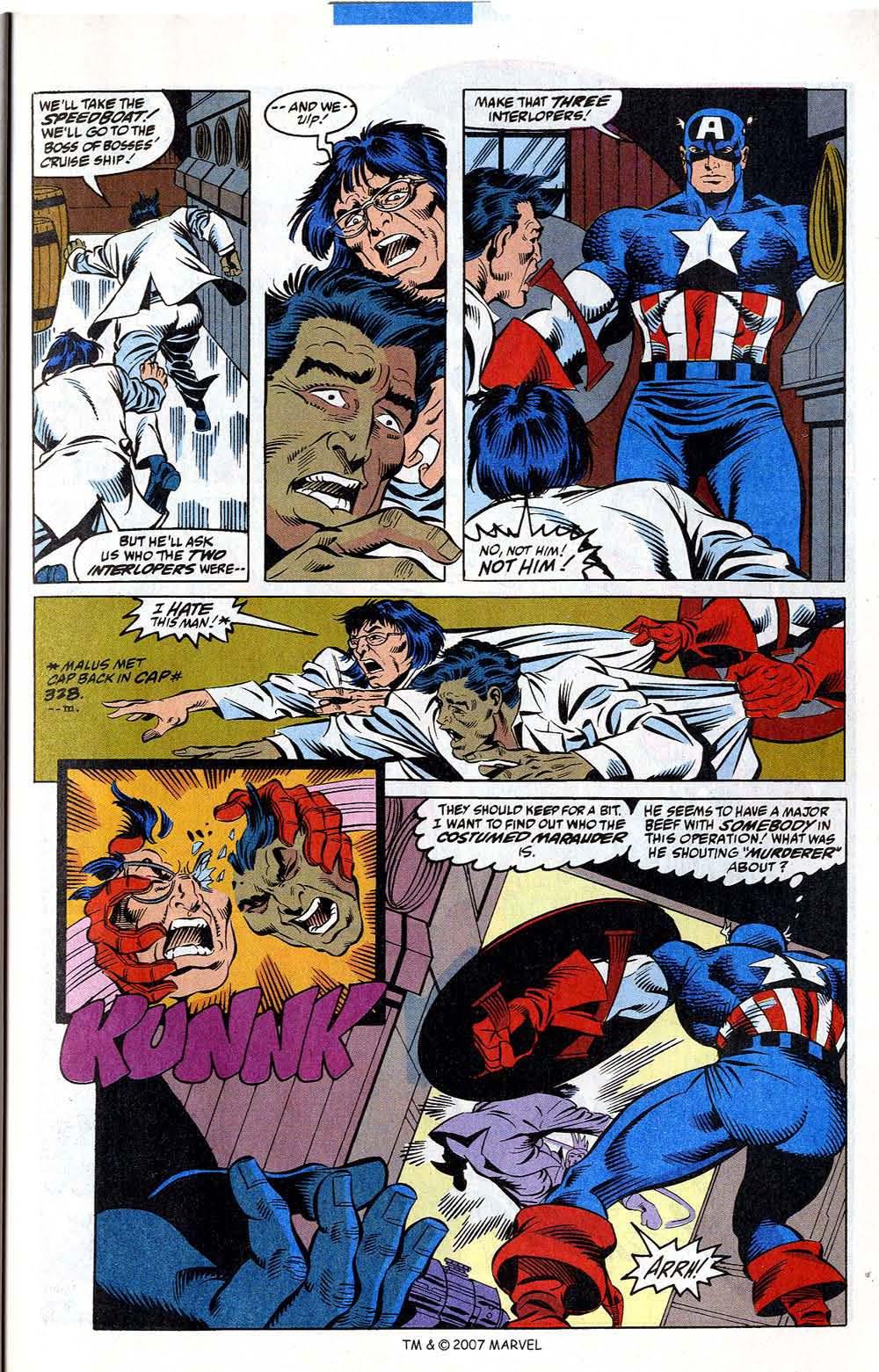 Read online Captain America (1968) comic -  Issue # _Annual 12 - 39