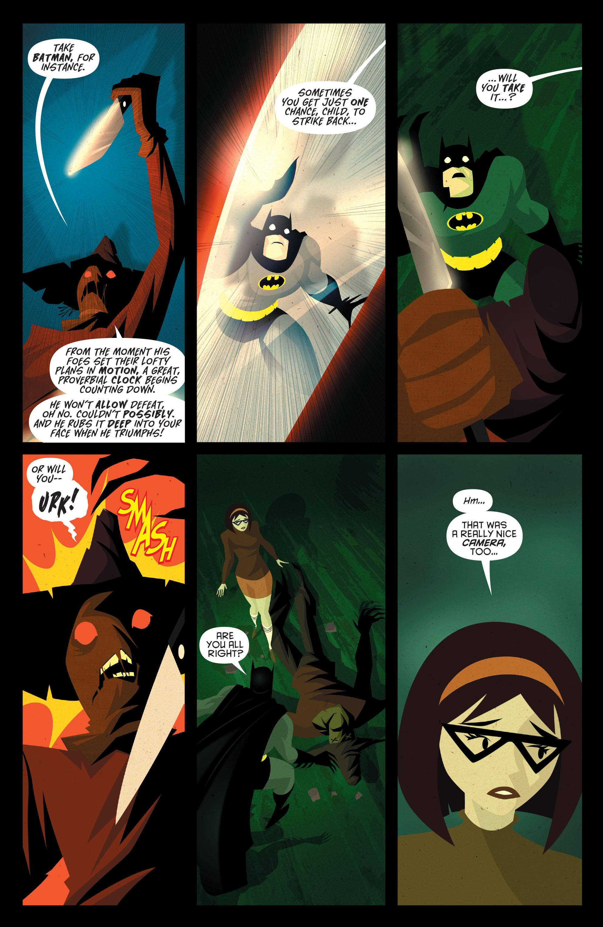 Read online Joker's Asylum: Scarecrow comic -  Issue # Full - 22