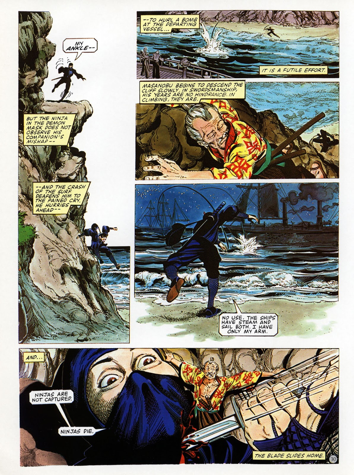 Read online Epic Graphic Novel: Last of the Dragons comic -  Issue # Full - 31