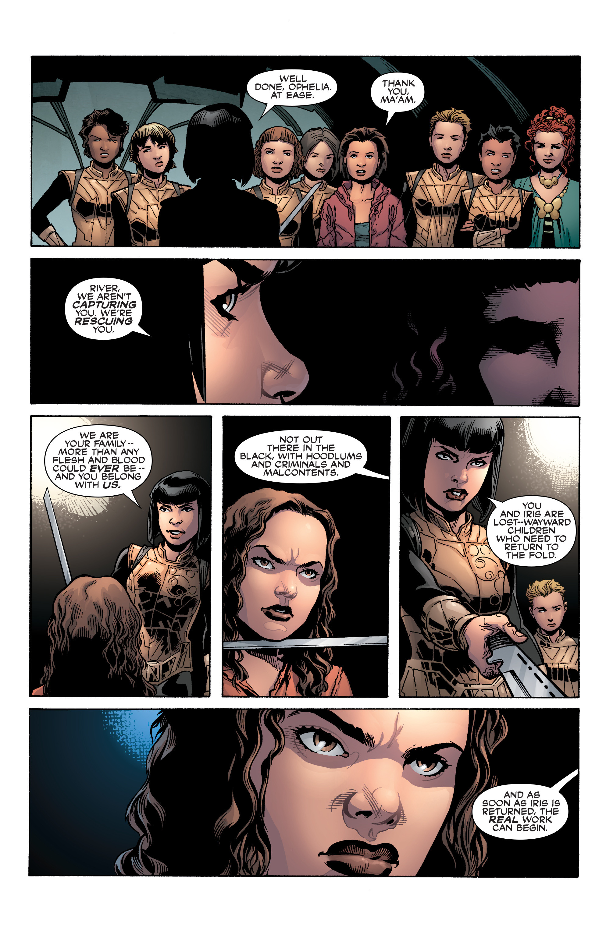 Read online Serenity: Firefly Class 03-K64 – No Power in the 'Verse comic -  Issue #3 - 8