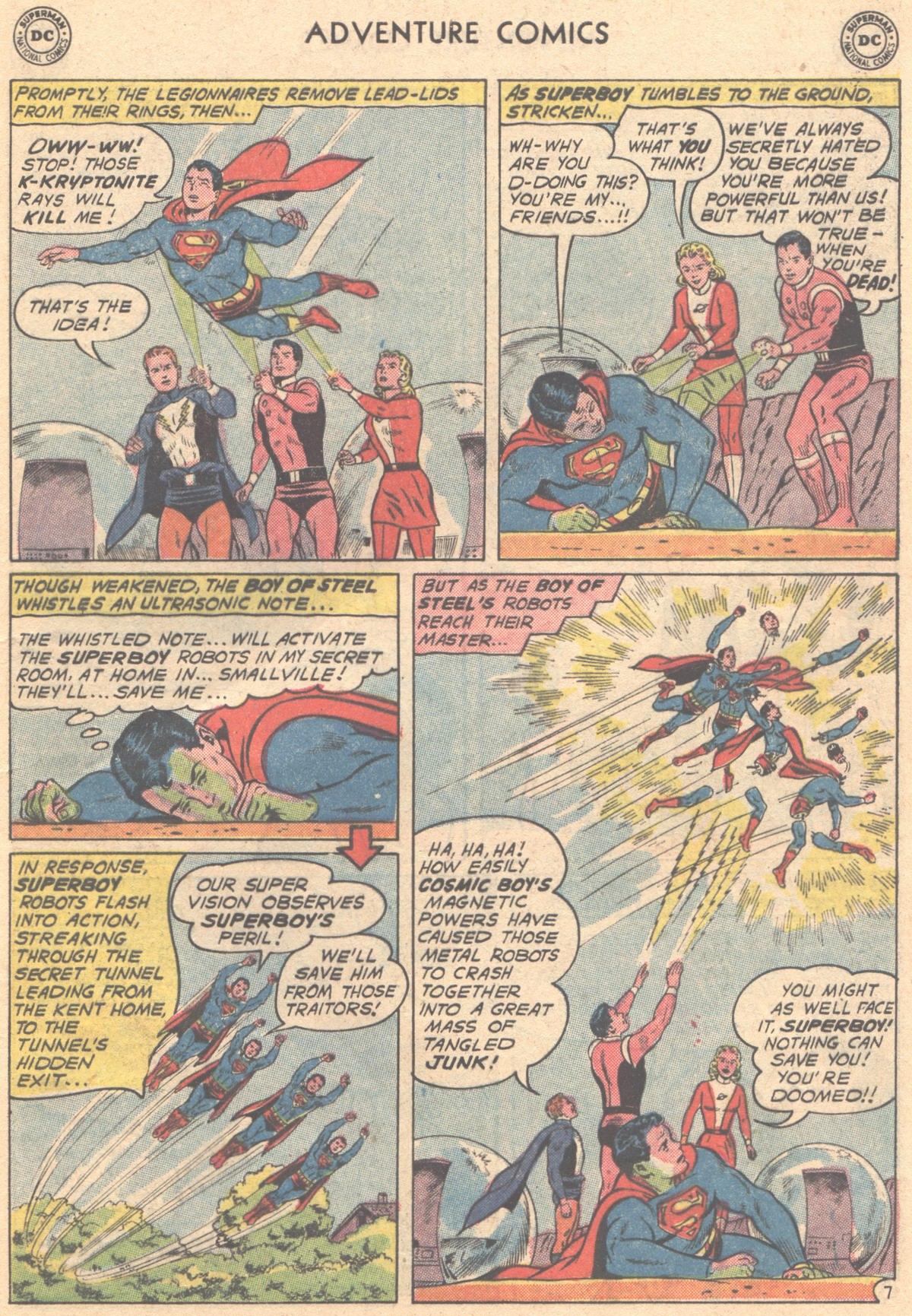Read online Adventure Comics (1938) comic -  Issue #293 - 9
