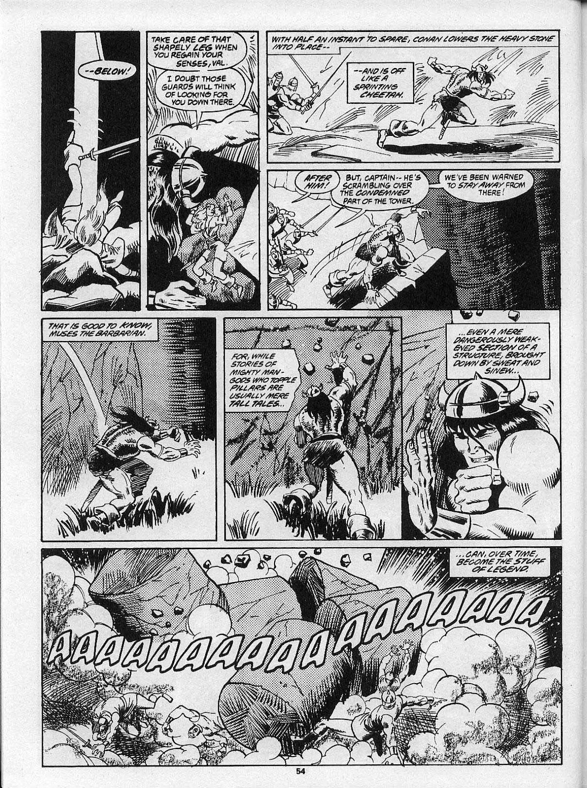 Comic The Savage Sword Of Conan issue 202