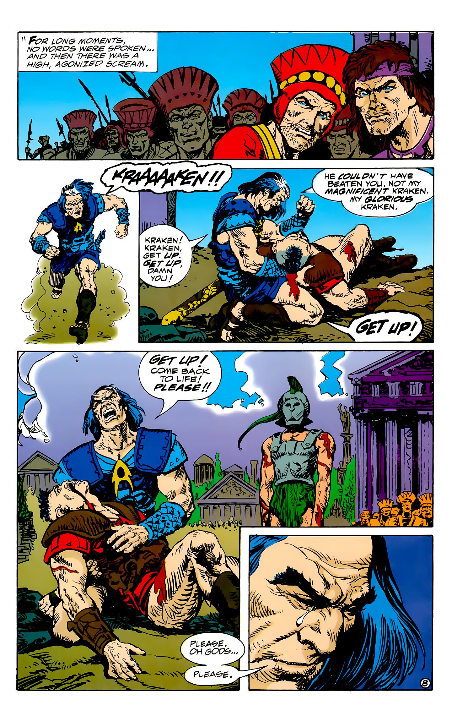Read online Atlantis Chronicles comic -  Issue #7 - 9
