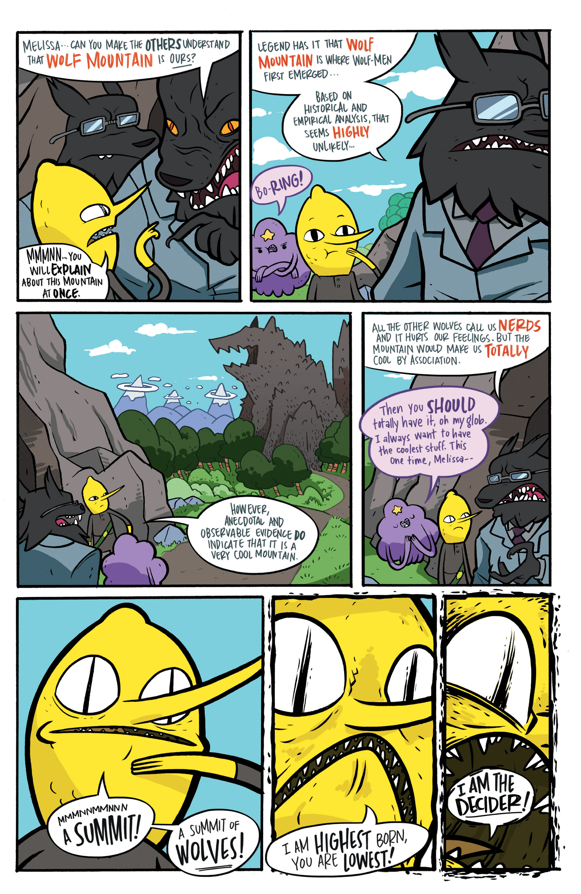 Read online Adventure Time: Candy Capers comic -  Issue #3 - 21