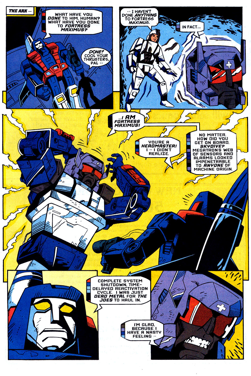 Read online Transformers: Generation 2 comic -  Issue #2 - 9